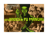 Brides of Fu Manchu (The) Posters