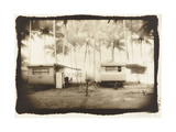 Two caravans, Queensland, Australia Photographic Print by Theo Westenberger