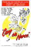 Carry on Nurse Plakater