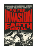 Daleks' Invasion Earth: 2150 A.D. Posters