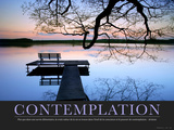Contemplation (French Translation) Photographic Print