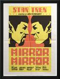 Star Trek Episode 33: Mirror, Mirror TV Poster Posters by Juan Oritz