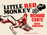 Little Red Monkey Posters