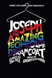 Joseph and the Amazing Technicolor Dreamcoat Broadway Poster Posters