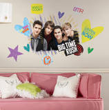 Big Time Rush Peel & Stick Giant Wall Decal Wall Decal
