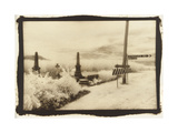 Cemetry at a Junction, Queensland, Australia Photographic Print by Theo Westenberger