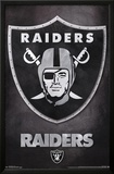 Oakland Raiders - Logo NFL Sports Poster Prints