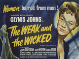 Weak and the Wicked (The) Posters