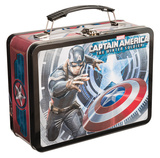 Marvel: Captain America - Winder Soldier Large Tin Lunchbox Lunch Box