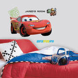 Cars 2 Lightening Peel & Stick Giant Wall Decal w/PZ Muursticker