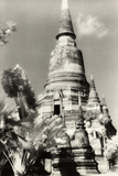 Temple View 2, Agutthaya, Thailand Photographic Print by Theo Westenberger