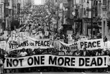 Anti-War Demonstration San Francisco 1969 Archival Photo Poster Photo