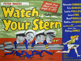 Watch Your Stern Posters