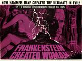 Frankenstein Created Woman Print