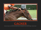 Gagner (French Translation) Photographic Print