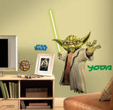 Star Wars - Yoda Peel & Stick Giant Wall Decals Wall Decal