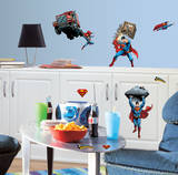 Superman - Day Of Doom Peel & Stick Wall Decals Wall Decal