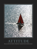 Attitude (French Translation) Photographic Print