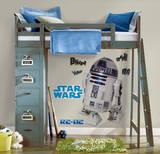 Star Wars Classic R2D2 Peel & Stick Giant Wall Decal Kalkomania ścienna