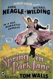 Spring in Park Lane Posters