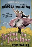 Spring in Park Lane Prints