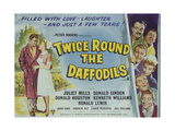 Twice Round the Daffodils Plakat