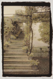 Staircase, Sienna Photographic Print by Theo Westenberger