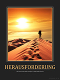 Herausforderung (German Translation) Photographic Print