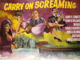 Carry on Screaming Plakater