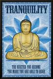 Buddha Tranquility Poster Poster