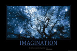Imagination (French Translation) Photographic Print