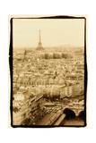 Paris Rooftops, France Fotodruck von Theo Westenberger