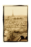 Paris Rooftops, France Photographic Print by Theo Westenberger