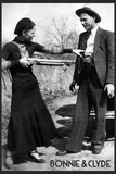 Bonnie and Clyde Archival Photo Poster Photo