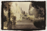 Formal Garden view Photographic Print by Theo Westenberger