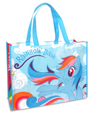 My Little Pony - Rainbow Dash Large Recycled Shopper Tote Bag Tote Bag