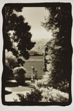 Statues regarding Lake Como Photographic Print by Theo Westenberger