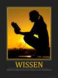 Wissen (German Translation) Photographic Print