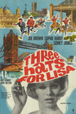 Three Hats for Lisa Poster
