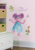 Sesame Street - Abby Peel & Stick Giant Wall Decal Wall Decal