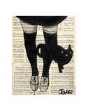 This be Cat Affiches par Loui Jover