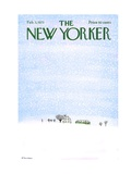 The New Yorker Cover - February 3, 1973 Regular Giclee Print by Raymond Davidson