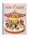 The New Yorker Cover - April 8, 1991 Regular Giclee Print by Kathy Osborn