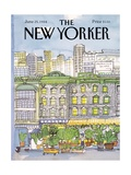 The New Yorker Cover - June 25, 1984 Giclee Print by Barbara Westman