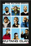 Wu Tang Clan Animated Music Poster Print