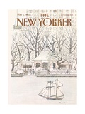 The New Yorker Cover - May 2, 1983 Premium Giclee Print by Marisabina Russo