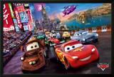 Cars Race Posters