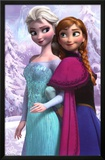 Frozen - Anna & Snow Queen Elsa Movie Poster Poster