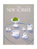 The New Yorker Cover - January 14, 1985 Regular Giclee Print by Eve Olitsky