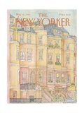 The New Yorker Cover - May 14, 1984 Giclée-Druck von Iris VanRynbach